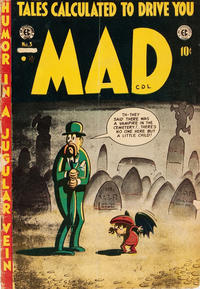 Cover Thumbnail for Mad (Superior, 1952 series) #3