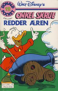 Cover Thumbnail for Donald Pocket (Hjemmet / Egmont, 1968 series) #12 - Onkel Skrue redder æren [3. opplag Reutsendelse 330 10]