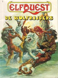 Cover Thumbnail for ElfQuest (Arboris, 1983 series) #1 [Derde, herziene druk] - De Wolfrijders