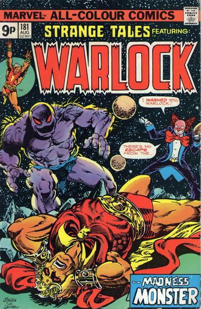 Cover for Strange Tales (Marvel, 1973 series) #181 [British Price Variant]