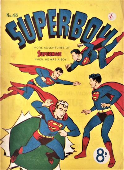 Cover for Superboy (K. G. Murray, 1949 series) #48