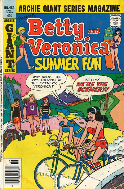 Cover for Archie Giant Series Magazine (Archie, 1954 series) #484