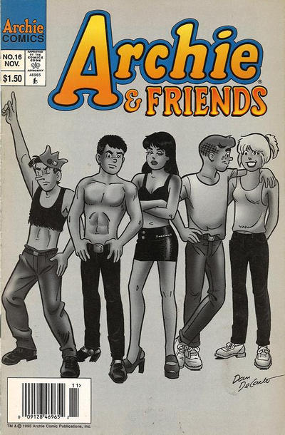 Cover for Archie & Friends (Archie, 1992 series) #16 [Canadian]