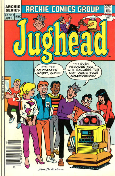 Cover for Jughead (Archie, 1965 series) #339
