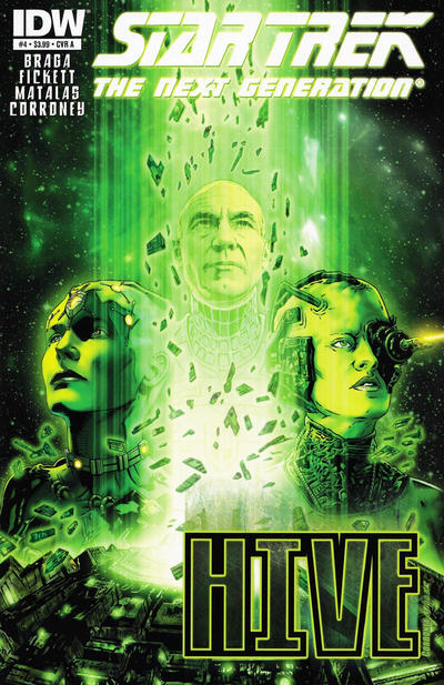 Cover for Star Trek TNG: Hive (IDW, 2012 series) #4 [Cover A - Joe Corroney]
