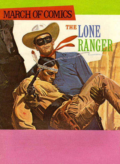 Cover for March of Comics (Western, 1946 series) #350