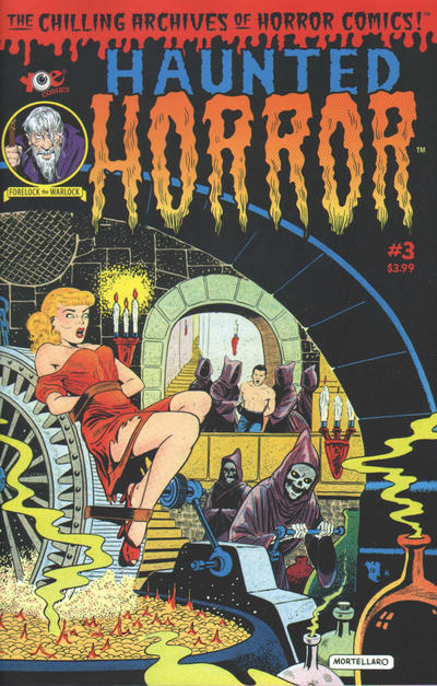 Cover for Haunted Horror (IDW, 2012 series) #3