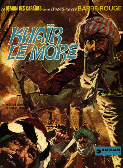 Cover for Barbe-Rouge (Dargaud, 1961 series) #15 - Khaïr le More