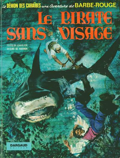 Cover for Barbe-Rouge (Dargaud, 1961 series) #14 - Le pirate sans visage