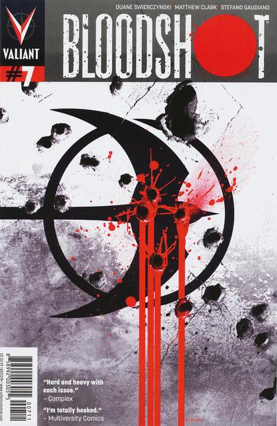 Cover for Bloodshot (Valiant Entertainment, 2012 series) #7 [Cover B - Trevor Hairsine]