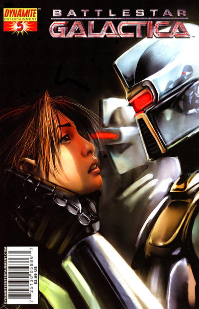 Cover for Battlestar Galactica (Dynamite Entertainment, 2006 series) #5 [Cover D Photo Cover]