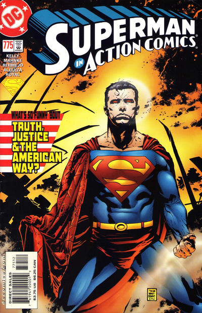 Cover for Action Comics (DC, 1938 series) #775 [Direct Sales]
