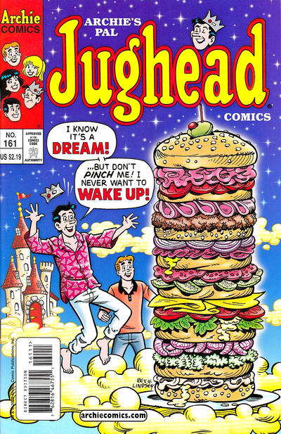 Cover for Archie's Pal Jughead Comics (Archie, 1993 series) #161 [Newsstand]