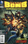 Cover for Human Bomb (DC, 2013 series) #4