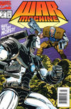 Cover for War Machine (Marvel, 1994 series) #2 [Newsstand Edition]