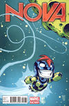 Cover Thumbnail for Nova (2013 series) #1 [Marvel Baby Variant by Skottie Young]