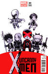 Cover for Uncanny X-Men (Marvel, 2013 series) #1 [Marvel Baby Variant by Skottie Young]