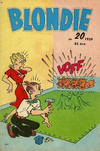 Cover for Blondie (Åhlén & Åkerlunds, 1956 series) #20/1959