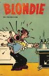 Cover for Blondie (Åhlén & Åkerlunds, 1956 series) #4/1958