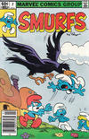 Cover for Smurfs (Marvel, 1982 series) #2 [Newsstand Edition]