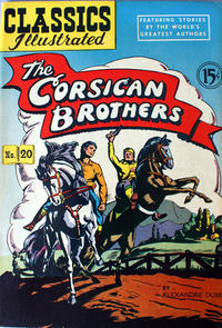 Cover Thumbnail for Classics Illustrated (Gilberton, 1947 series) #20