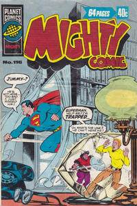 Cover Thumbnail for Mighty Comic (K. G. Murray, 1960 series) #116