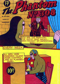 Cover Thumbnail for The Phantom (Feature Productions, 1949 series) #308