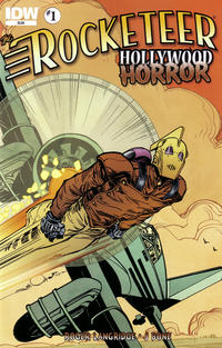 Cover Thumbnail for The Rocketeer: Hollywood Horror (IDW, 2013 series) #1