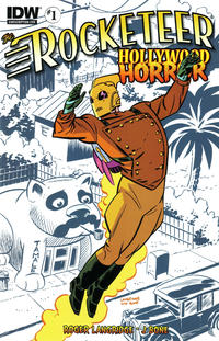 Cover Thumbnail for The Rocketeer: Hollywood Horror (IDW, 2013 series) #1 [Subscription Cover]