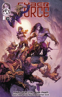 Cover Thumbnail for Cyber Force (Image, 2012 series) #3 [Cover A]
