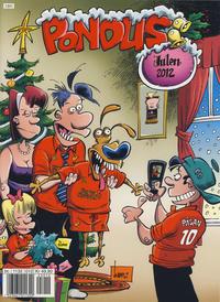 Cover Thumbnail for Pondus Julehefte (Hjemmet / Egmont, 2007 series) #2012