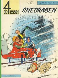 Cover Thumbnail for De 4 esser (Carlsen, 1973 series) #8 - Snedragen