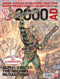Cover Thumbnail for 2000 AD (Rebellion, 2001 series) #1817
