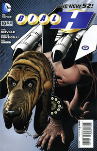 Cover Thumbnail for Dial H for Hero (DC, 2012 series) #10