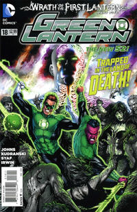 Cover Thumbnail for Green Lantern (DC, 2011 series) #18