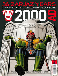 Cover Thumbnail for 2000 AD (Rebellion, 2001 series) #1821