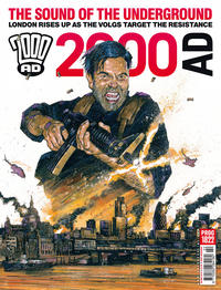 Cover Thumbnail for 2000 AD (Rebellion, 2001 series) #1822