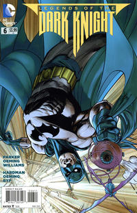Cover Thumbnail for Legends of the Dark Knight (DC, 2012 series) #6