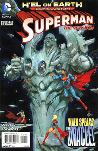 Cover for Superman (DC, 2011 series) #17 [Kenneth Rocafort Sketch Cover]