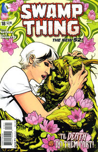Cover Thumbnail for Swamp Thing (DC, 2011 series) #18