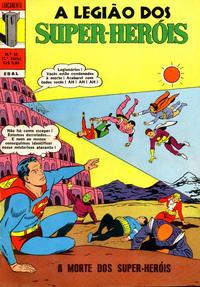 Cover Thumbnail for Lançamento (2ª Série) [A Legião dos Super-Heróis] (Editora Brasil-América [EBAL], 1968 series) #38