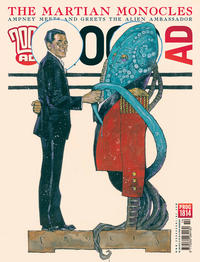 Cover Thumbnail for 2000 AD (Rebellion, 2001 series) #1814