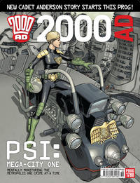 Cover Thumbnail for 2000 AD (Rebellion, 2001 series) #1780