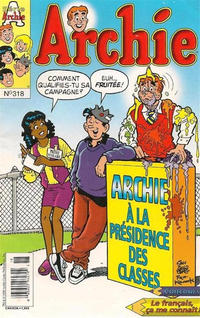 Cover Thumbnail for Archie (Editions Héritage, 1971 series) #318