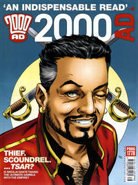 Cover Thumbnail for 2000 AD (Rebellion, 2001 series) #1778