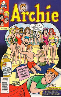Cover Thumbnail for Archie (Editions Héritage, 1971 series) #328