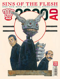 Cover Thumbnail for 2000 AD (Rebellion, 2001 series) #1820