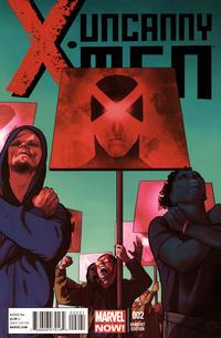 Cover Thumbnail for Uncanny X-Men (Marvel, 2013 series) #2 [Frazer Irving]