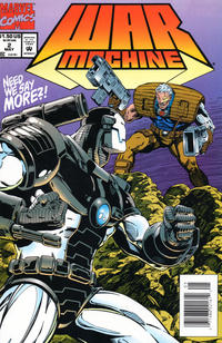 Cover Thumbnail for War Machine (Marvel, 1994 series) #2 [Newsstand]