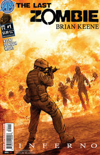 Cover Thumbnail for The Last Zombie: Inferno (Antarctic Press, 2011 series) #1